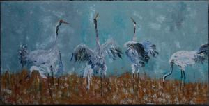Cranes in the Peel
